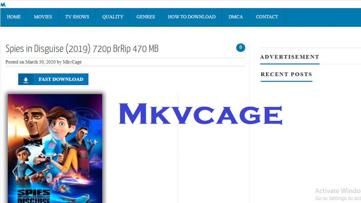 Mkvcage Illegal Movies HD Download Website Full Movie Download Dual Audio 720p Website